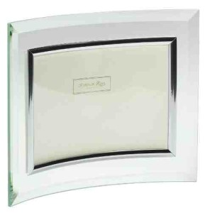 Addison Ross, Glass Photo Frame, Curved Landscape, 4 x 6 Inches photo size