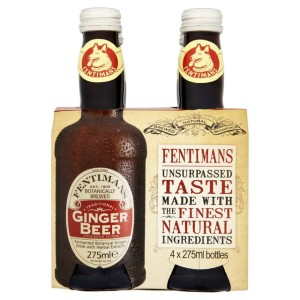 Fentimans Botanically Brewed Ginger Beer 4 x 275ml