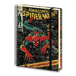 Marvel A4 Spiderman Notebook