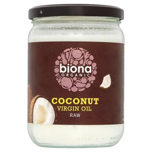 Biona Organic Virgin Coconut Oil - Raw 400g