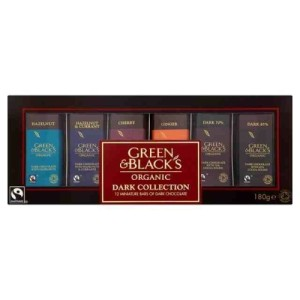 Green & Black's Organic Dark Miniatures Collection 180g