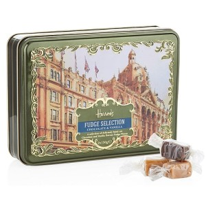 Harrods Heritage Fudge Selection Tin 300g