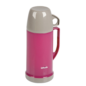 Faveco Ushuaia Vacuum Plastic Flask with Cup 250 ml Purple
