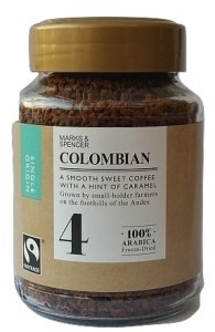 Marks & Spencer Colombian Freeze-Dried Coffee 100g