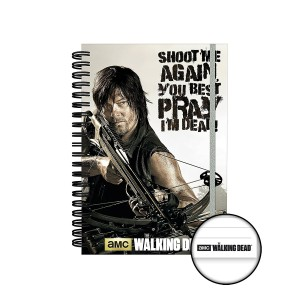 The Walking Dead Daryl - Crossbow A5 Notebook