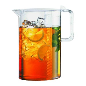 Bodum Ceylon Ice tea jug with filter, 1.5 l Transparent