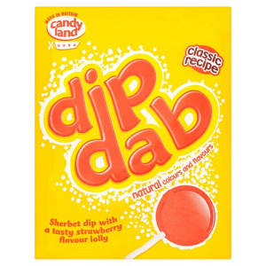 Barratt Sherbert Strawberry Dip Dab 23g