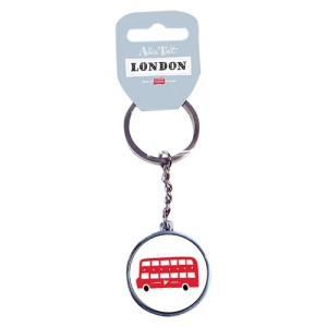 Alice Tait London Bus Keyring