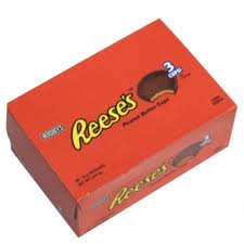 Hershey's Reese's Peanut Butter Cups 40 x 3 per pack - 51g