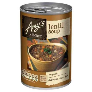 Amy's Kitchen Low Fat Lentil Soup 400g