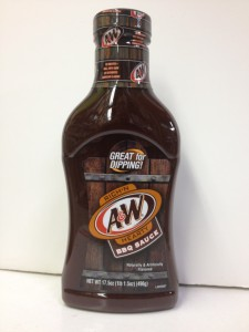 A&W Rich 'n Hearty BBQ Sauce 490g