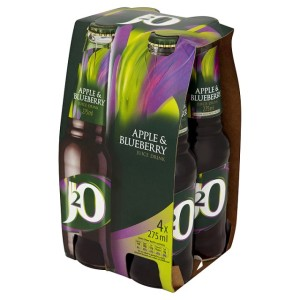 J2o Apple & Blueberry 4 x 275ml