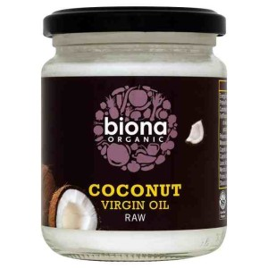 Biona Organic Raw Virgin Coconut Oil 200g