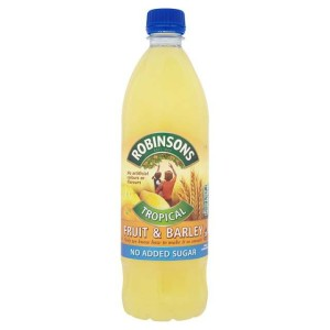 Robinsons No Added Sugar Fruit Barley Tropical 1L