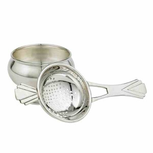 Fortnum & Mason Long-handled Silver Plated Tea Strainer