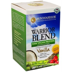 Sunwarrior Blend Raw Plant-Based Complete Protein Vanilla Powder 1Kg