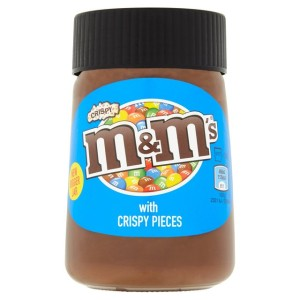 Mars m&m's Chocolate Spread with Crispy Pieces 350g