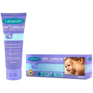 Lansinoh HPA Lanolin Cream For Sore Nipples & Cracked Skin 40ml