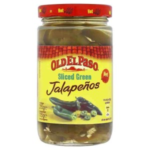Old El Paso Hot & Tangy Green Jalapenos 215g