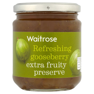 Gooseberry Extra Fruity Preserve Waitrose 340g