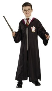 Official Harry Potter Costume Pack - Gryffindor Robe, Wand and Glasses - Child 6-9 years