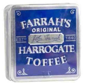 Farrah's Harrogate Toffee 100g tin