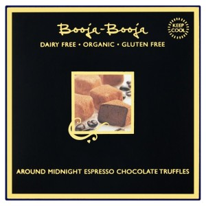 Booja Booja Dairy Free Around Midnight Espresso Chocolate Truffles 104g