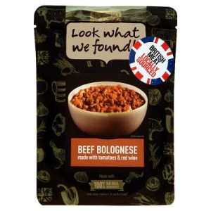 Look what we found! Gluten Free Beef Bolognese 250g