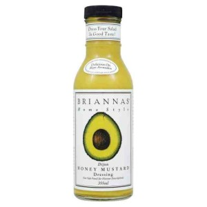 Briannas Dijon Honey Mustard Dressing 355ml