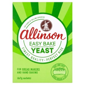 Allinson Easy Bake Yeast 6 x 7g