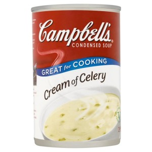 Campbell's Cream of Celery Condensed Soup 295g