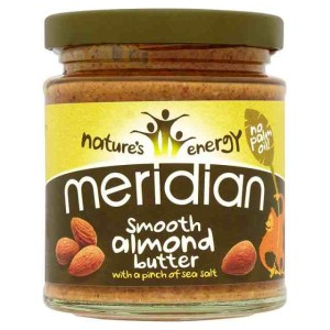 Meridian Nature's Energy Smooth Almond Butter 170g