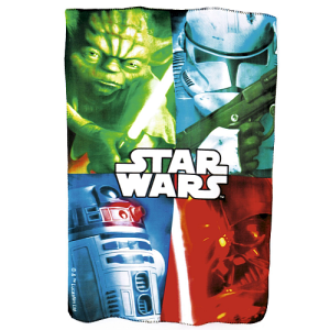 Disney Star Wars Fleece Blanket 100 X 150cm