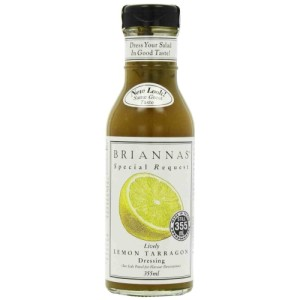Brianna's Lemon Tarragon Dressing 355ml