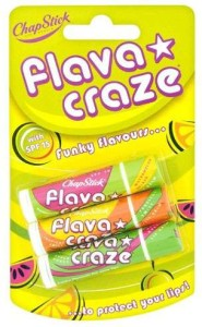 ChapStick Flava Craze Funky Flavours with SPF 3 pack