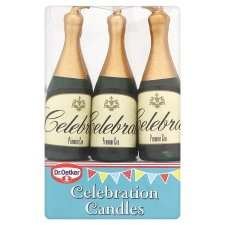 Dr. Oetker 6 Celebration Candles