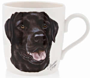 Black Labrador Ceramic Mug 300ml