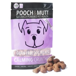Pooch & Mutt Calming Crunchies Grain Free Dog Treats 80g