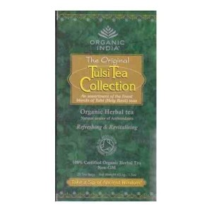 Organic India Original Tulsi Tea Collection 25 Tea Bags