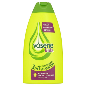Vosene Kids 3 in 1 Conditioning Shampoo with Lice Repellent 250ml
