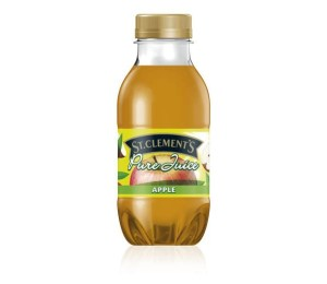 St Clements Pure Apple Juice 330ml