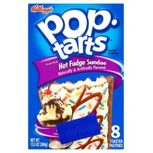 Kellogg's Pop Tarts Frosted Hot Fudge Sundae 384g