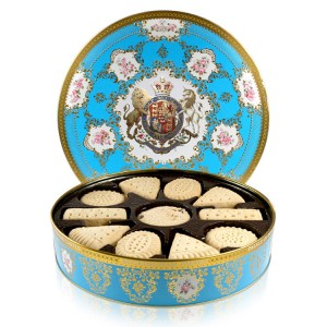 Buckingham Palace Coat of Arms Shortbread Biscuit Tin 500g