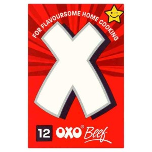 OXO 12 Beef Stock Cubes 70g