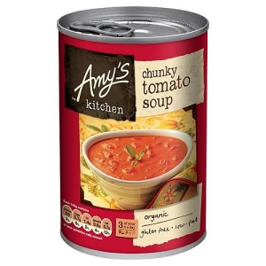 Amy's Kitchen Low Fat Chunky Tomato Soup 400g