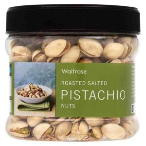 Roasted Salted Pistachio Nuts Waitrose 350g