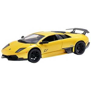 John Lewis Lamborghini Model, Yellow