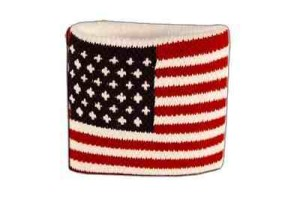 USA Flag Wristband -Sweatband