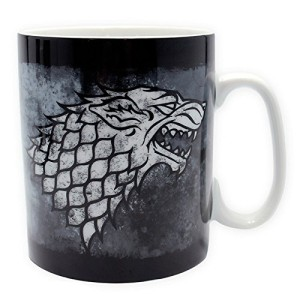 Game of Thrones Large Porcelain Stark Mug 460ml