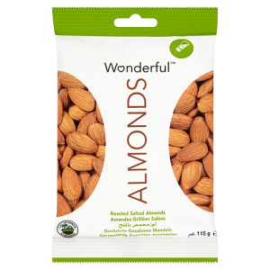 Wonderful Almonds Roasted & Salted 110g